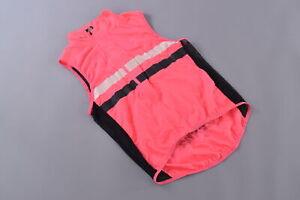 RAPHA Brevet Gilet Men's Large Windproof Road MTB Triathlon Reflective Pink