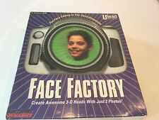 Ulead systems FACE FACTORY FOR WINDOWS 95/98 5/18/1999 FACTORY SEALED BOX