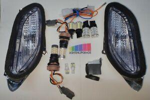 Switchback Indicator kit DRL ST1300 inc rear indi tail LED bulbs lightenupgrade.