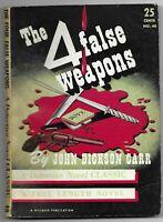 The Four False Weapons by John Dickson Carr (Detective Novel Classic #40 -1943)