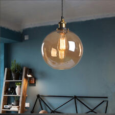 Vintage Pendant Light Kitchen Glass Ceiling Lights Hotel Lighting Bedroom Lamp