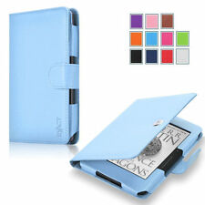Exact Pro Premium PU Leather Folio Case Cover for Amazon Kindle Voyage 2014 LBU