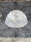 8x10 Unique Handmade Moon Design tribal high quality Turkoman wool &Silk Mix rug
