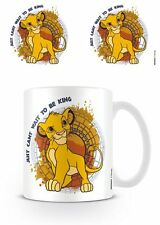 NEW OFFICIAL DISNEY THE LION KING (JUST CAN'T WAIT TO) - MUG BY PYRAMID MG24044