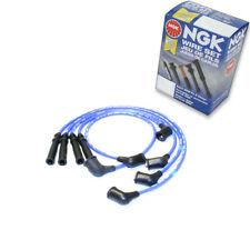 1 pc NGK Spark Plug Wire Set for 1989-1990 Nissan 240SX 2.4L L4 - Engine Kit ao
