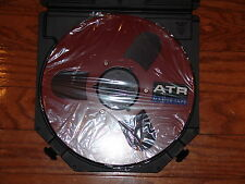 "BRAND NEW RED ATR MASTER TAPE 1/4"" 10.5"" METAL REEL TO REEL WILL FIT AKAI TEAC"
