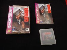 Cliffhanger (Sega Game Gear, 1994) COMPLETE w/ Box manual game WORKS!
