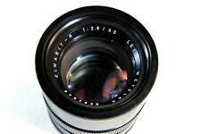 Leica Leitz Wetzlar ELMARIT-R 90mm f/2.8 Lens Made In Germany, As Is, Read Desc
