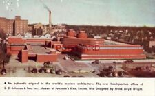 The modern architecture of HEADQUARTERS OF S. C. JOHNSON & SON, RACINE, WIS.