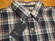 NWT, $50. MSRP, Mens Arrow Cotton Blend Short Sleeve Shirt Style #486844