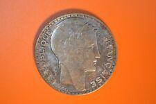 France 10 Franc blanchi Monnaie Argent - 1933
