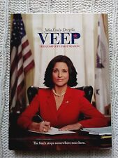 VEEP–THE COMPLETE FIRST SEASON - DVD, 2-DISC BOX SET, R-1, LIKE NEW