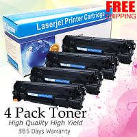 4PK CRG137 Toner for Canon 137 ImageClass MF227dw MF232w MF236n MF249 LBP151dw