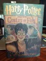 J. K. Rowling HARRY POTTER AND THE GOBLET OF FIRE  1st Edition 1st Printing FINE