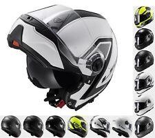 LS2 FF325 Flip Top Modular Full Face Road Crash Motorcycle Bike Scooter Helmet