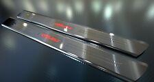 Per CHEVROLET CAMARO Coupé * acciaio inossidabile Barre di ingresso con richiesta incisione