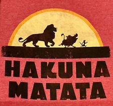 Vintage Disney's Lion King Xl T-Shirt