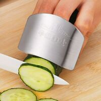 Finger Guard Stainless Steel Protect Fingers Safety Guard Kitchen Cooking Tools
