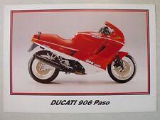 Prospekt Ducati 906 Paso, ca.1989, 2 Seiten