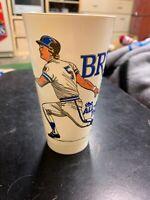 1980 George Brett Royals Baseball Slush Puppie Collector's Series Cup #17