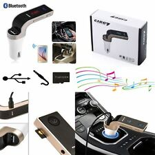 Bluetooth Car Kit Wireless FM Transmitter USB LCD Charger Radio MP3 Player