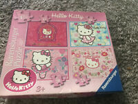 Ravensburger Hello Kitty 4 in a Box Jigsaw puzzle Set 72 Pieces 2011 Age 3+