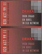 Telefoonkaart / Phonecard Nederland CRE048.01-02 ongebruikt - Draka
