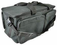 Heavy Duty Padded Multi-Compartment Transit Carry Bag For DJ Lights Leads Parcan