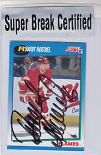 1991-92 Score - SUPER BREAK AUTO - Robert Reichel