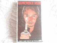I DISMEMBER MAMA VHS VIDEO GEMS CULT SLASHER HORROR ZOOEY HALL 70'S GRINDHOUSE