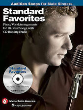 Standard Favorites - Audition Songs for Male Singers: Piano/Vocal/Guitar Arrange