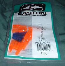 Easton X Nocks for St Axis Carbon Shafts -1dz pk Flo Orange