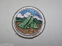 VINTAGE BSA BOY SCOUT PATCH 1960S CAMPING TENT