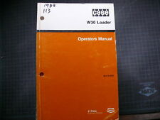 Case W30 Wheel Loader Operator Owner Operation Manual GUIDE front end pay