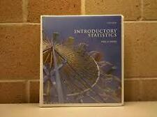 Introductory Statistics (Ringbound) by Neil A.