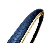 DSI Road Race Bike Bicycle Tyre 700 x 25c RRP£13 Black W/ Amber Wall