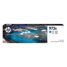 original PageWide Pro HP 973x Alta Capacidad Cian Cartucho de Tinta (F6T81AE)