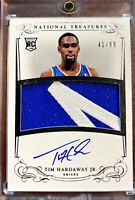 2013-14 National Treasures TIM HARDAWAY JR. **Rookie Patch Auto** RPA RC /99