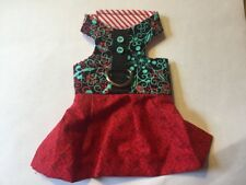 Red Dog Cat Harness Dress XXXS 888-889