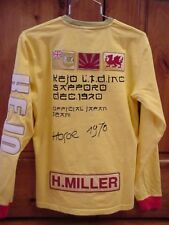 NEW! KEJO YOUTH XXL M 10-12 yr EKANS SWEATSHIRT HARRYE MILLER SAPPORO 1970 JAPAN