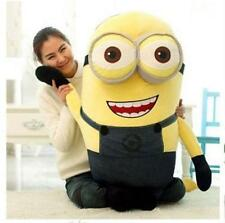 New 60 cm Despicable Me Double Eyes Minion Big Giant Large Soft Plush Toy Doll