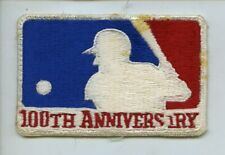 1969 Major League Baseball 100th Anniversary Jersey Patch
