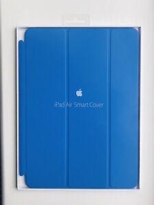 Apple Smart Cover iPad 9.7 Inch Air 1, iPad Air 2, 5th & 6th Gen - BLUE  *RARE*