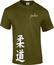 Judo Kanji Martial Arts T Shirt