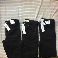 NEW Topshop Petite Jamie High Waist Ankle Skinny Jeans Black W24L28,W25L28,W26L2