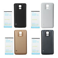 High Capacity 7000mAh Battery Black White Blue Cover For Samsung Galaxy S5 i9600