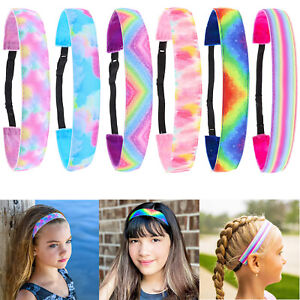 6pcs Elastic Headbands Cute Hair Head Bands Accessories Stuff For Teen Girl gift
