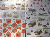 QUALITY BIRTHDAY GIFT WRAPPING PAPER - LAND ROVER POPPY BALLET LONDON VULCAN
