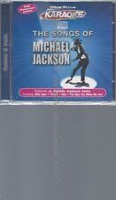 CD--MICHAEL JACKSON--SONGS OF MICHAEL JACKSON & GRAPHICS | KARAOKE