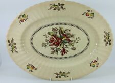 """Large Wade Meat Plate .""""Hedgerow"""".16"""""""